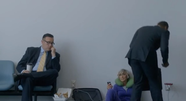 Wall-Huggers spot Samsung anti iPhone_1