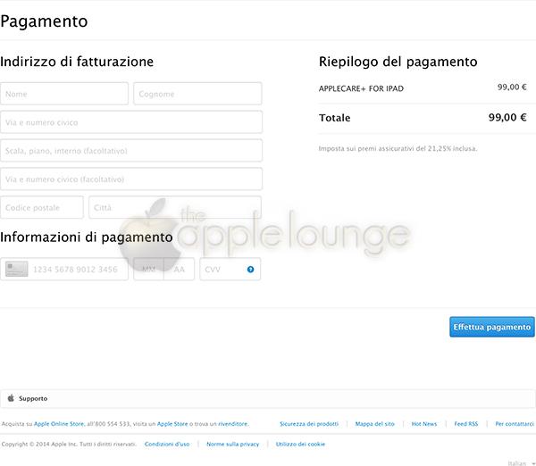 AppleCare+, disponibile un sistema di pagamento sicuro 03 - TheAppleLounge.com