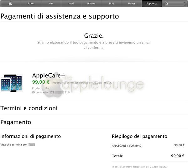 AppleCare+, disponibile un sistema di pagamento sicuro 05 - TheAppleLounge.com