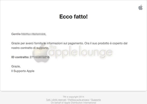 AppleCare+, disponibile un sistema di pagamento sicuro 06 - TheAppleLounge.com