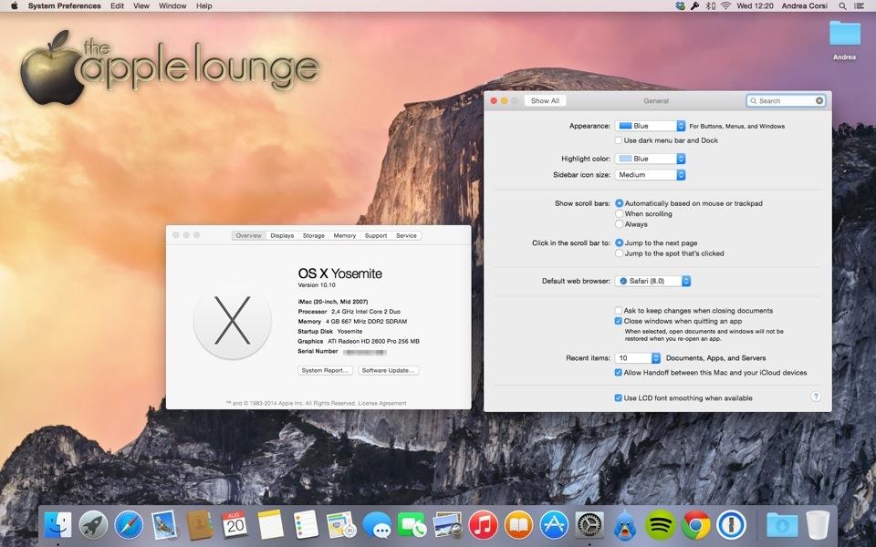 Come abilitare Continuity Handoff vecchi Mac iMac mid 2007 guida TAL_11