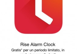 Rise Alarm Clock gratis app Apple Store TAL