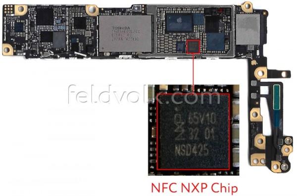board nfc iphone 6