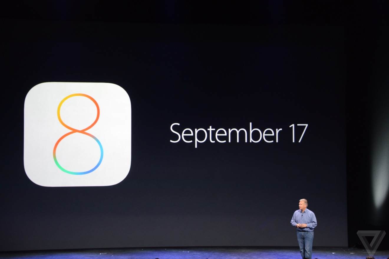 iOS 8 data rilascio
