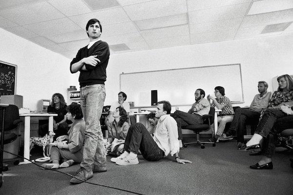 Steve Jobs giovane incontro