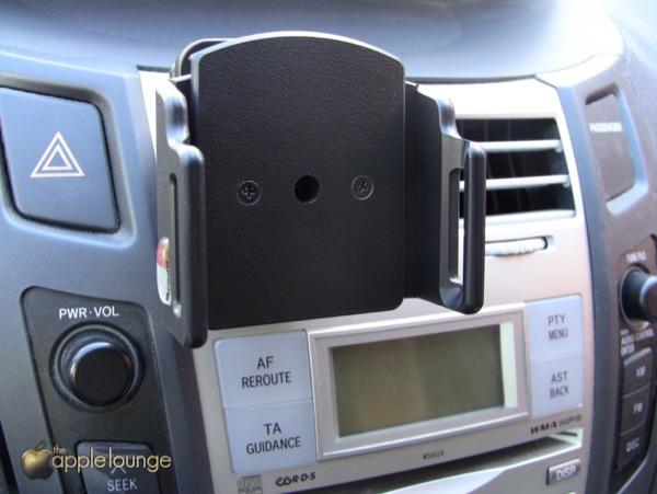 Supporto auto Brodit iPhone 6 recensione TAL ProClip MoveClip Holder 1