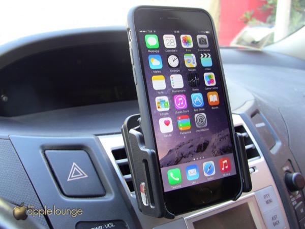 Supporto auto Brodit iPhone 6 recensione TAL ProClip MoveClip Holder 3