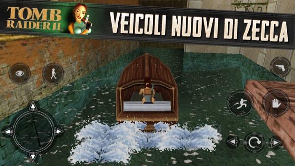 Tomb Raider 2 iOS Venezia
