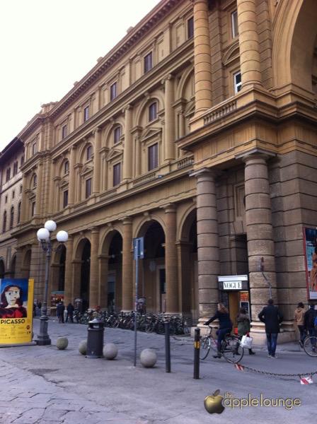 Apple Store Firenze Piazza della Repubblica lavori TAL 3