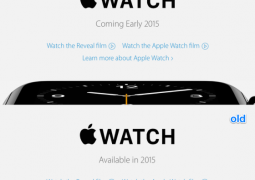 apple watch early 2015