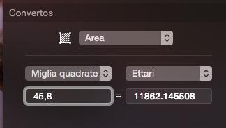 Convertos recensione TAL widget Centro Notifiche OS X Yosemite