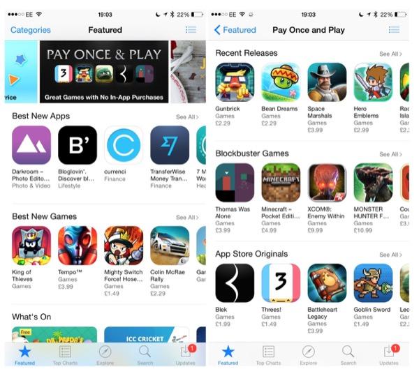 app store no in app