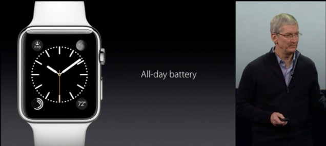 batteria apple watch