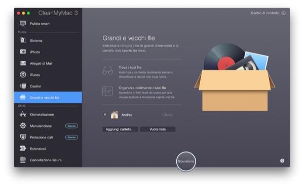 CleanMyMac 3 recensione TAL pulizia manutenzione Mac OS X Yosemite 10