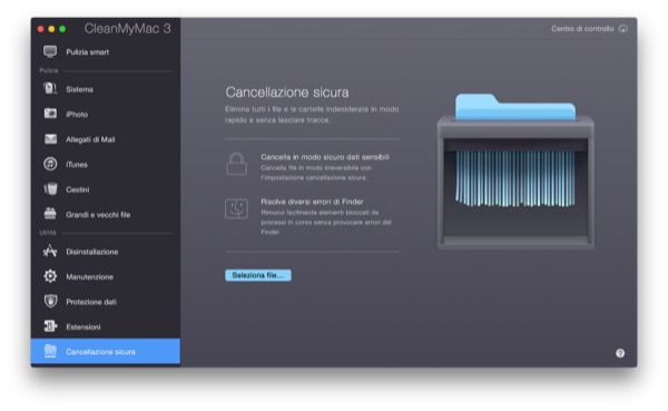 CleanMyMac 3 recensione TAL pulizia manutenzione Mac OS X Yosemite 15