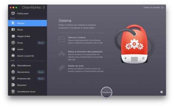 CleanMyMac 3 recensione TAL pulizia manutenzione Mac OS X Yosemite 5