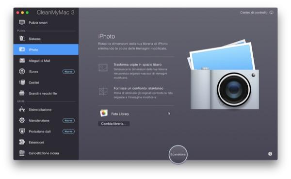 CleanMyMac 3 recensione TAL pulizia manutenzione Mac OS X Yosemite 6