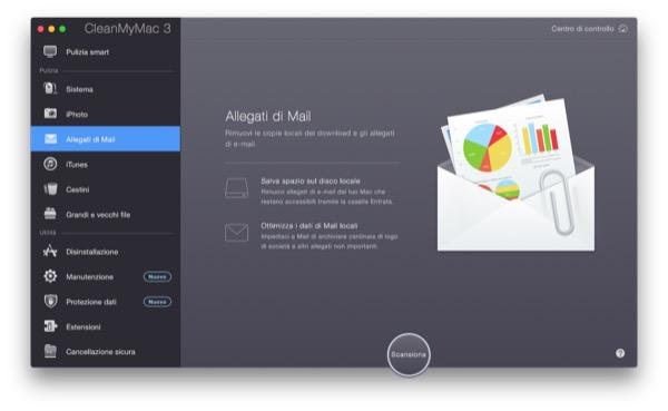 CleanMyMac 3 recensione TAL pulizia manutenzione Mac OS X Yosemite 7