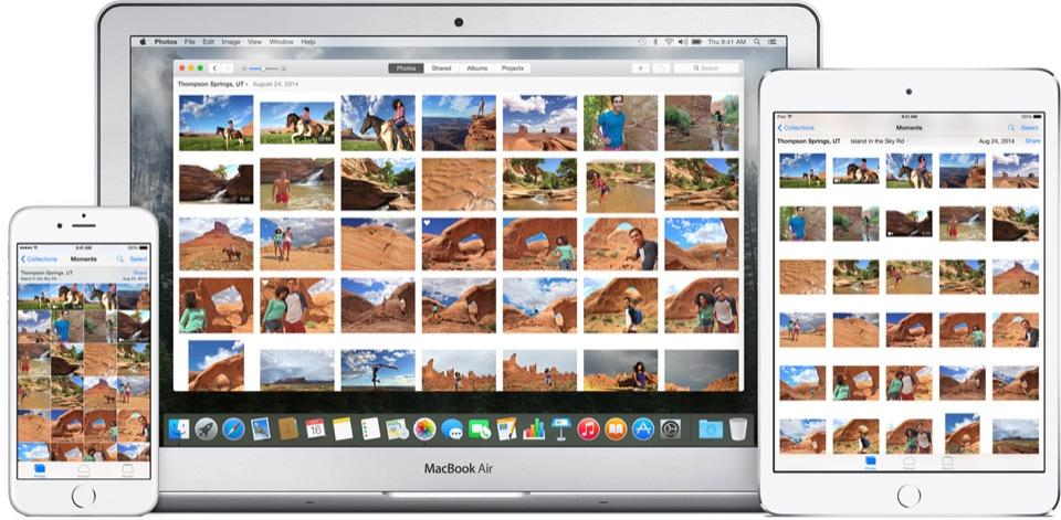Foto Mac libreria foto iCloud TAL 1