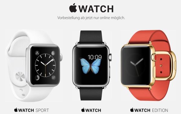 apple watch preordini