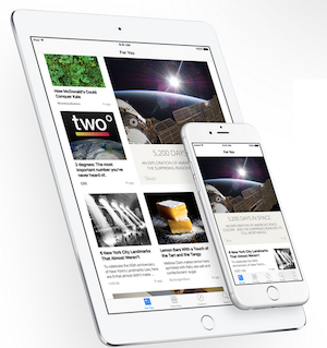 Apple News iPad e iPhone