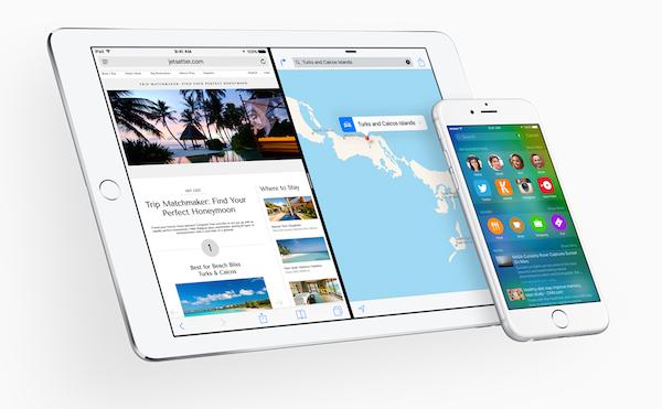 iOS 9 iPhone e iPad