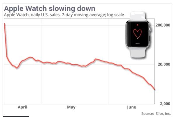 vendite apple watch