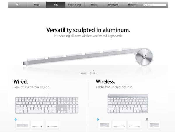 Apple Wireless Keyboard oro grigio siderale Bluetooth 4.2 LE 1