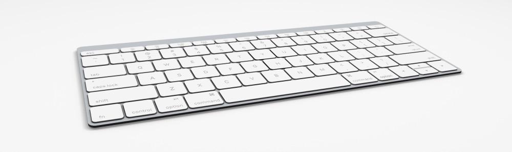 Apple Wireless Keyboard oro grigio siderale Bluetooth 4.2 LE 2