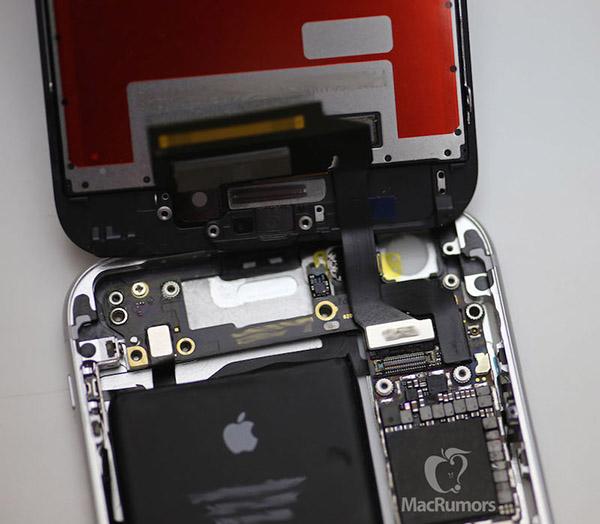 iPhone 6s aperto