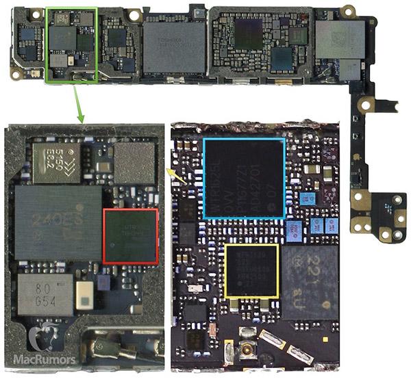 iPhone 6s scheda logica