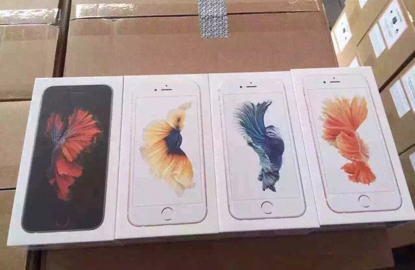 iphone 6s packaging