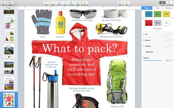 Pages iOS Mac iCloud