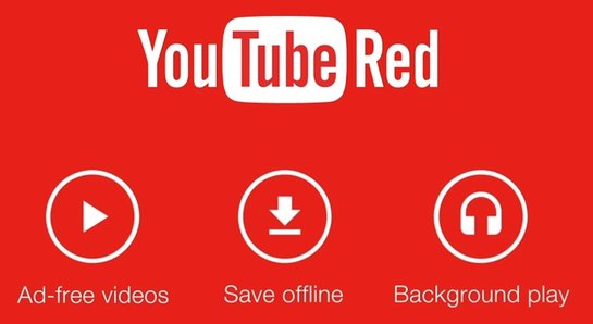 Logo di YouTube Red