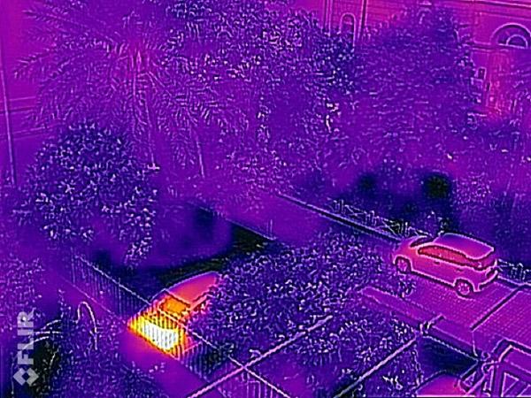 Videocamera termica per iPhone