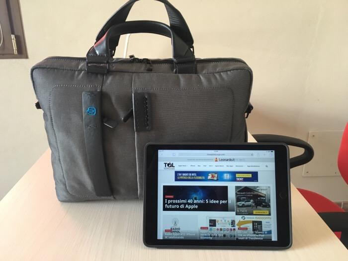 Piquadro borsa porta PC iPad Connequ 2427