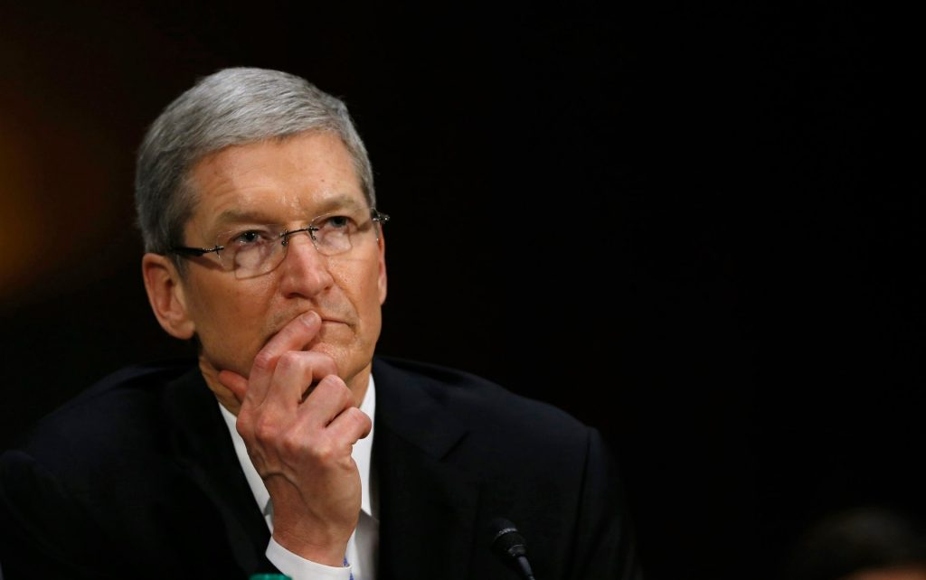tim cook e i ricavi apple