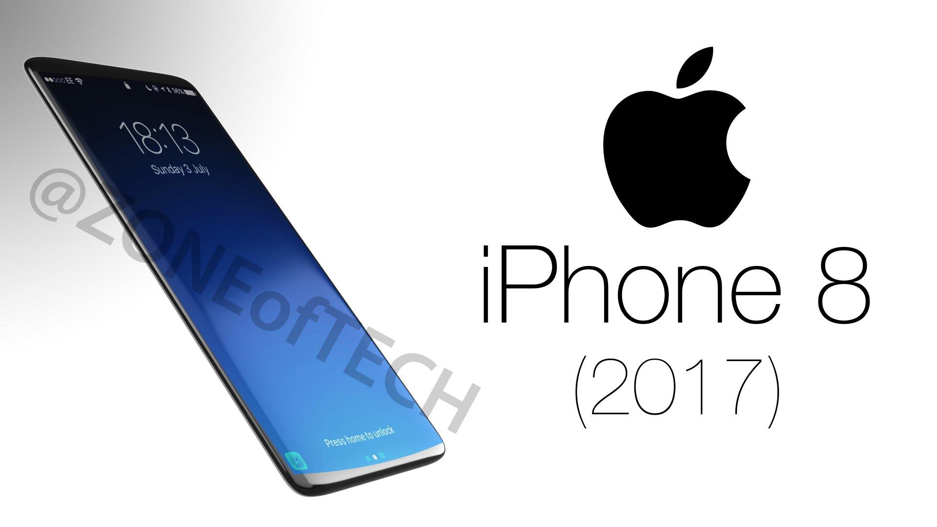 IPhone 8: lo schermo curvo ed altre novità