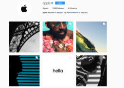 Apple account ufficiale Instagram