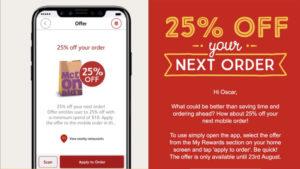 McDonald's Australia iPhone 8