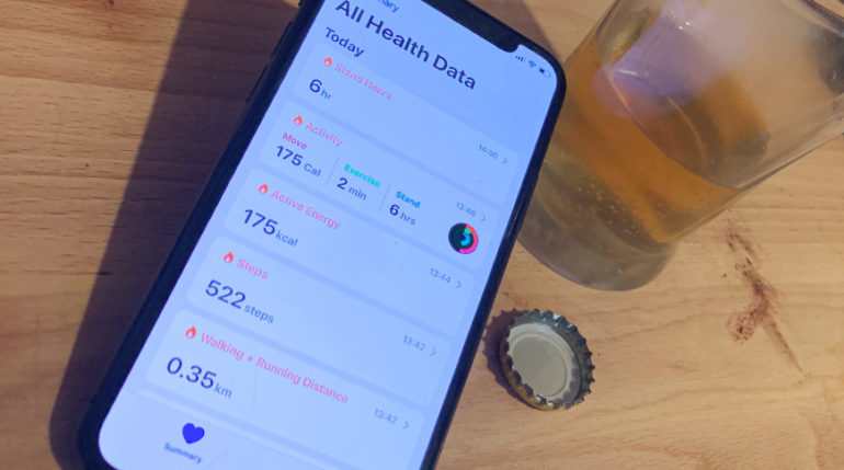iPhone alcool test