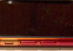 iPhone scolorito
